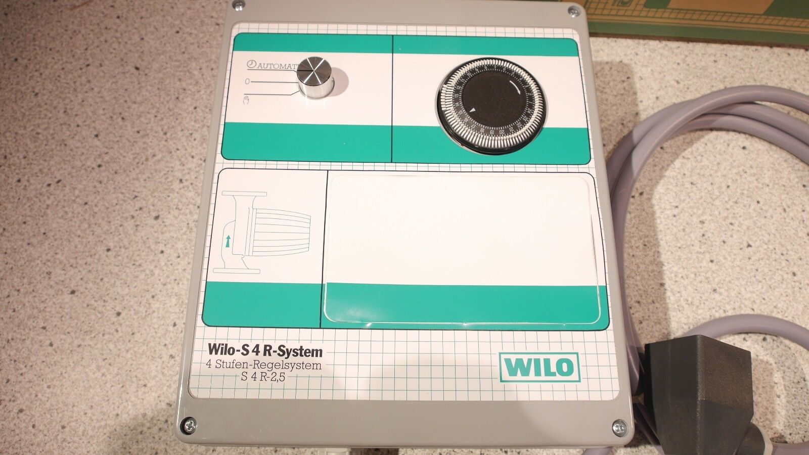 Wilo Schaltgerät S4R-2,5 4-Stufen Regelsystem 502247291 NEU OVP OVP OVP d89f8a