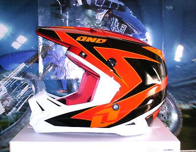 ONE Industries Helm Gamma Regime Rot Crosshelm Enduro Quad M Honda CR-F CR Thor