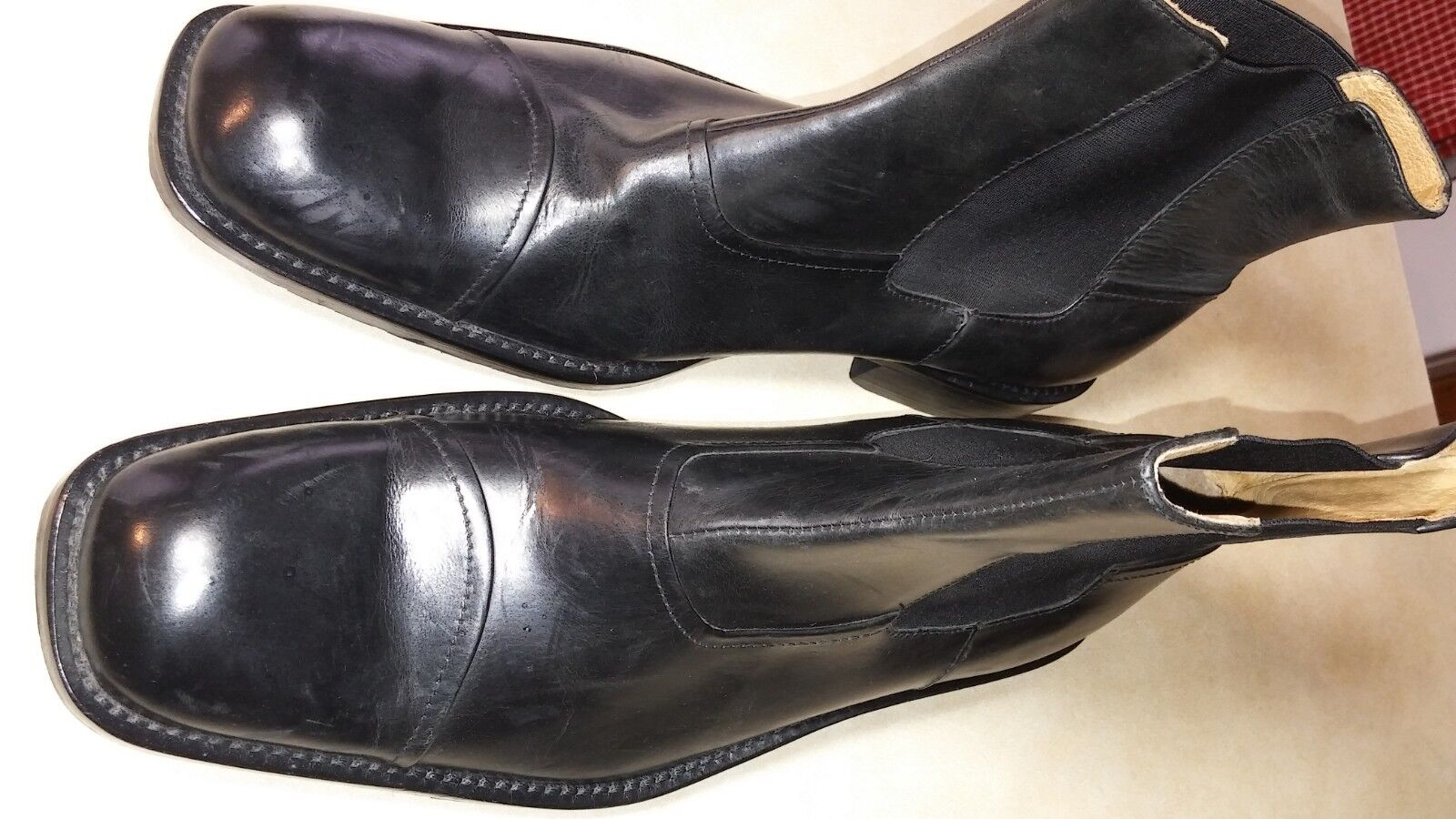 Kenneth Cole New York Men's Boots-  THINK IT OVER  - Black 10.5M