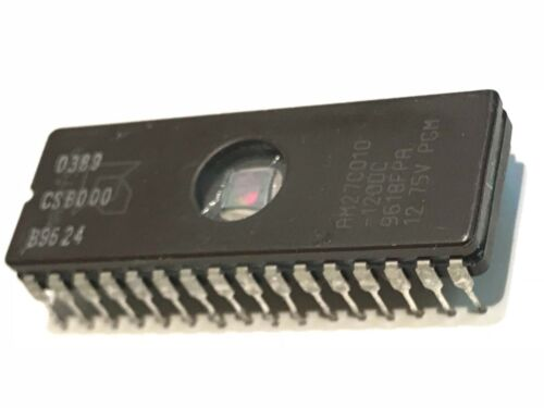 AM27C010-120DC Amd 1MB Eprom 27C010 12.75V Reino Unido stock x5 piezas ad1a15