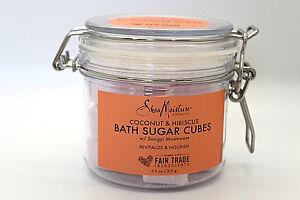Shea-Moisture-Coconut-amp-Hibiscus-Bath-Sugar-Cubes-w-Songyi-Mushrooms-Brand-New
