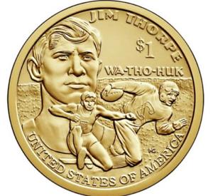 2018-D-P-Sacagawea-Native-American-Dollar-US-Mint-Coin-034-BU-034-Jim-Thorpe