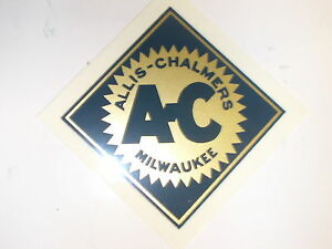 """FREE SHIPPING Allis Chalmers Decal Black 2/"""" X 20/""""  NEW"""