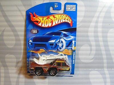 0910 Wir Nehmen Kunden Als Unsere GöTter Auto- & Verkehrsmodelle KüHn 2001 Hot Wheels Sammler #188 =flamme Stopfen= Braun