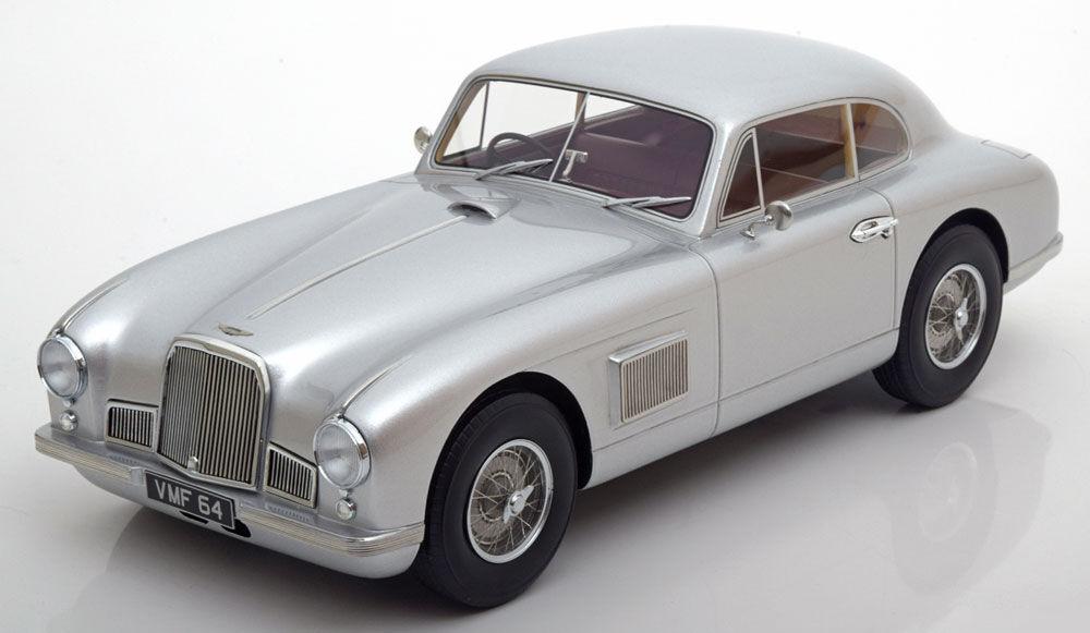 1950 Aston Martin DB2 Cardoso Coupe argento por Bos Modelos De Edición Limitada Escala 1000 1 18  nuevo