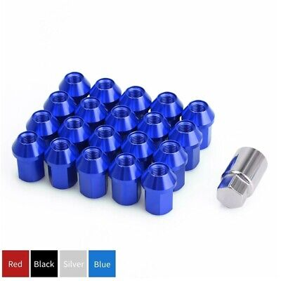 20pc Extended Wheel Lug Nuts Kit M12x1.5 Open End Cone Seat Key for Toyota Kia