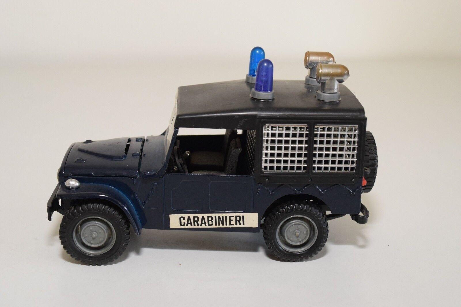 E E E BARLUX 73050 FIAT CAMPAGNOLA CARABINIERI POLICE NEAR MINT CONDITION 375c41