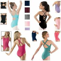 Capezio Motionwear Balera Strappy Fancy Back Dance Leotard Child & Adult