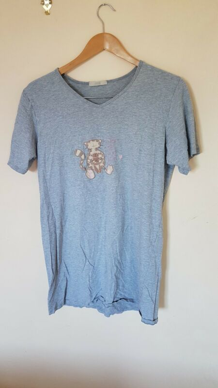 Ladies Grey Nightshirt Size 14 M&s