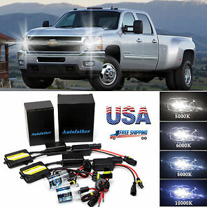 Details About Xenon Hid 9005 H8 H9 H11 Conversion Kit No Flicker For Chevrolet Silverado 1500