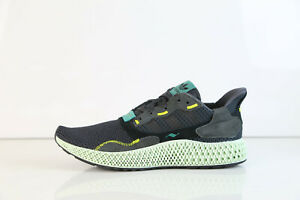 low cost 75a36 5bb6e Details about Adidas ZX 4000 4D Futurecraft Carbon Black BD7865 7 9 zx4000  future pk