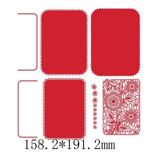 Drucken Metall Stanzformen Schablone Für Scrapbooking Fotopapier Karten Handwerk