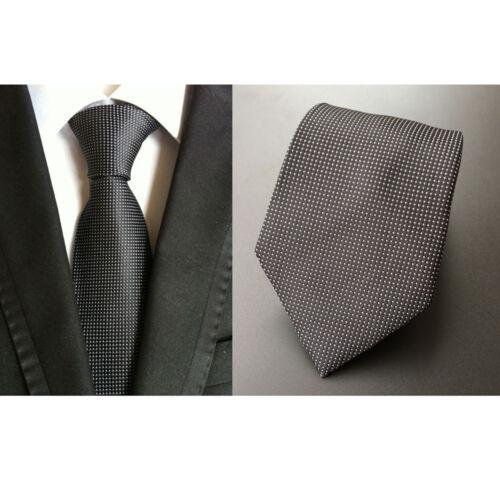 Mens Geometric Houndstooth  Polka Dots 8cm Business Party Necktie Tie HZ017