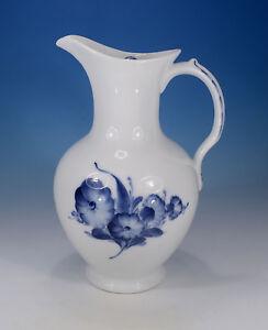 Royal-Copenhagen-034-Blaue-Blume-glatt-034-gr-antiker-Krug-mit-Deckel-1-2-Liter