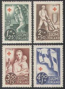 Finland-1945-Red-Cross-Medical-Health-Child-4v-n25683