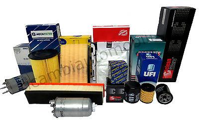 Fiat Ducato 1.9 D Abitacolo,Aria,Carburante,Olio Kit Filtri Tagliando 4 Pz