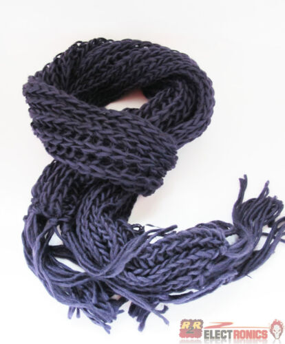 Women/'s Long Knitted Scarf