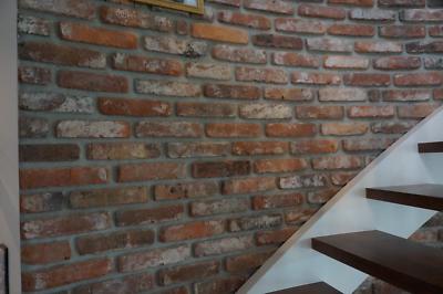 4m² Antike Alte Ziegel Verblender Klinker Riemchen Backstein Top Qualität Seien Sie In Geldangelegenheiten Schlau Klinker Fassade