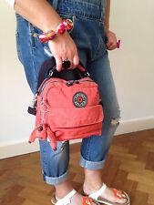 Genuine Kipling Candy 3 In 1 Backpack Shoulder Handbag Letters Blue