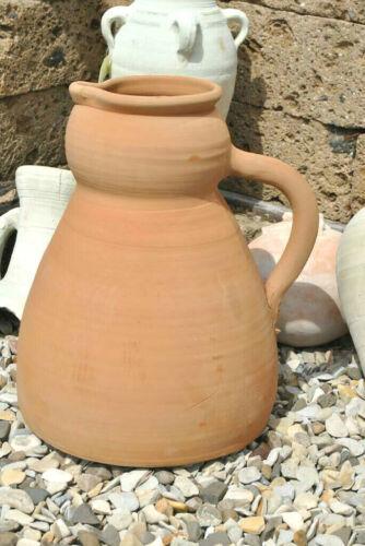 hübsche Kanne,Krug aus Terracotta,Handarbeit aus Spanien,46cm