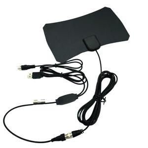 Antena-de-TV-digital-de-interior-con-amplificador-de-senal-Booster-TV-HDTV-Antena