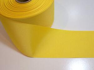 Large-ruban-jaune-Offray-Jaune-Gros-Grain-Ruban-largeur-3-in-environ-7-62-cm-x-1-yd-environ-0-91-m