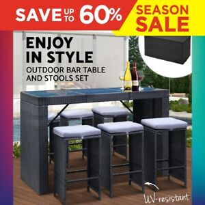 Gardeon-13pc-Outdoor-Bar-Table-and-Stools-Set-6-Chairs-Patio-Lounge-Furniture
