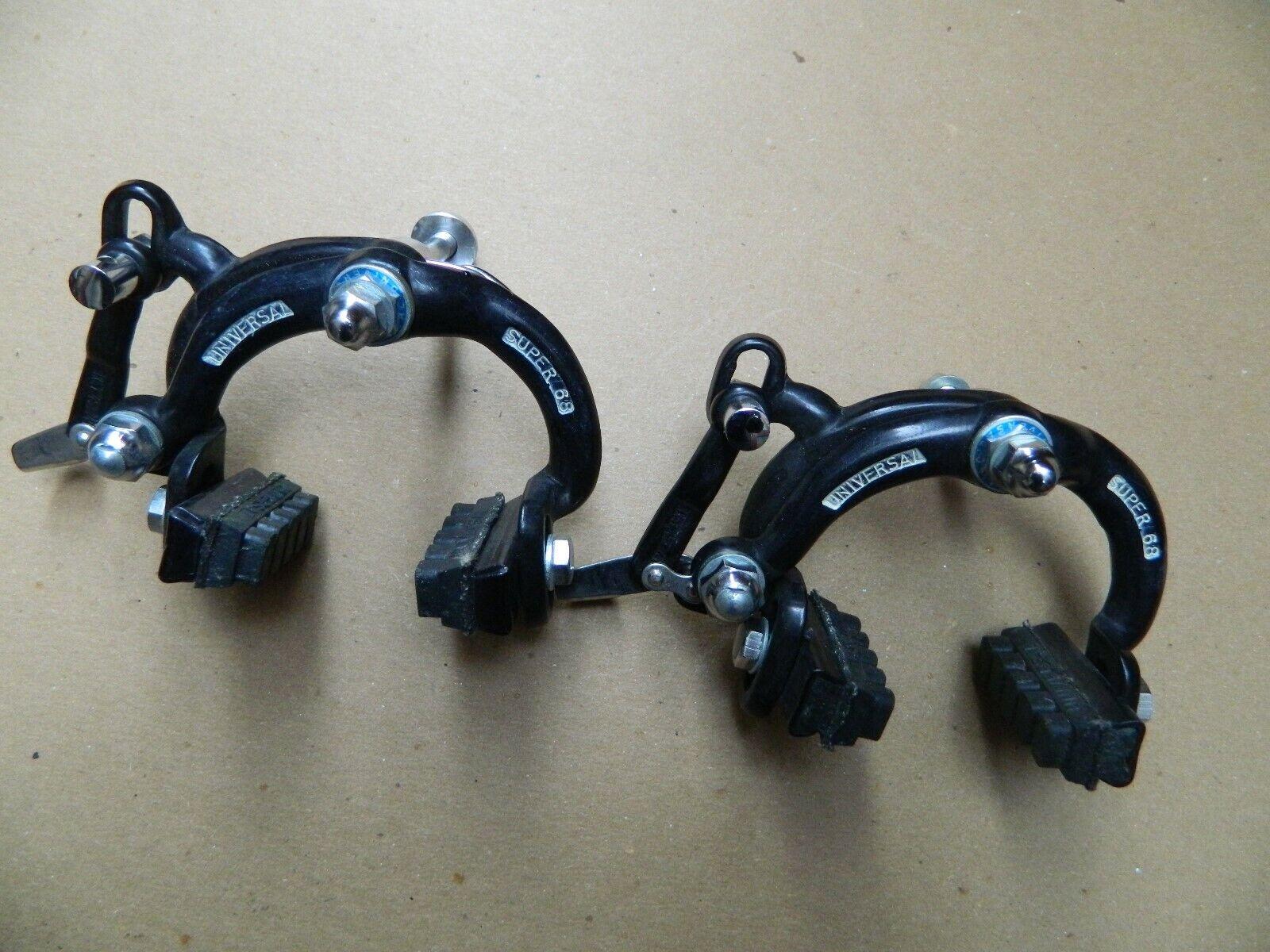 VINTAGE UNIVERSAL BRAKE CALIPERS (schwarz)...LOOK