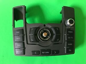 2005-11-AUDI-A6-MULTIMEDIA-RADIO-CONTROL-PANEL-NAVIGATION-OEM-4F1919610Q