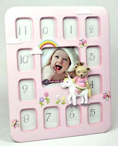 Baby Girl Teddy Prince 1st Year 12 Month Photo Frame Collage