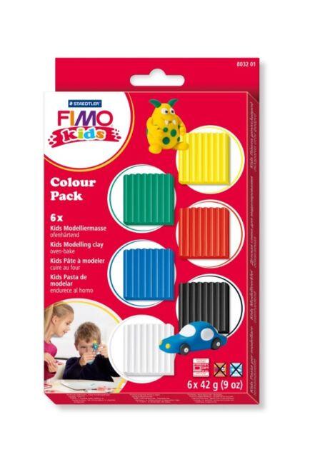 FIMO kids Colour Pack - basic 6x42g