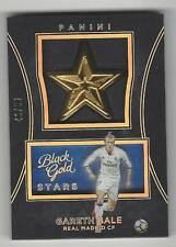 2016-17 Panini Black Gold Man of the Match Holo Gold #23 Gareth Bale 46/50 Real