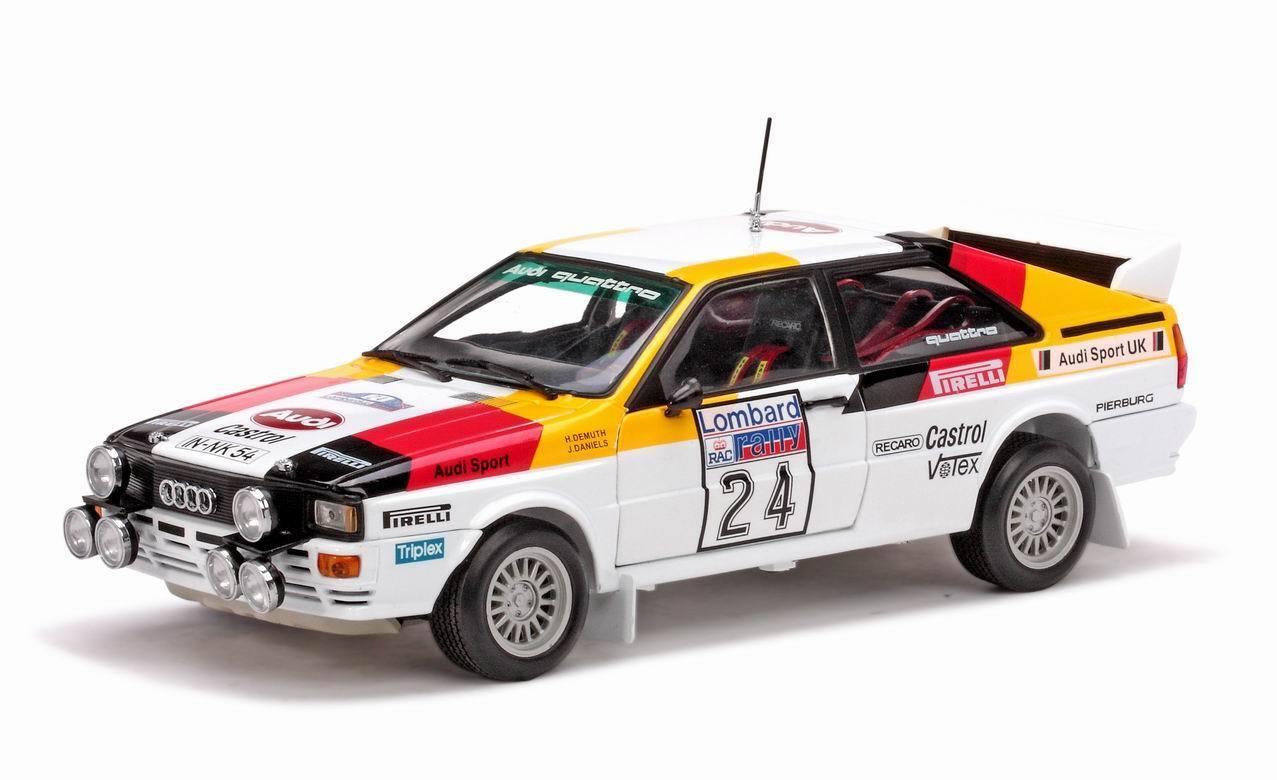 Sun Star Audi Quatro 1982 Lombard RAC Rally H.Demuth - J.Daniels 4193 1 18