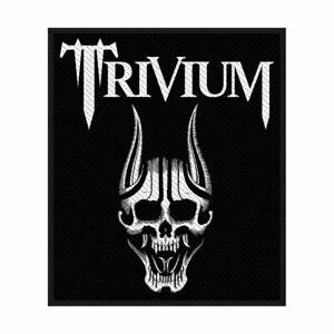 Trivium-Screaming-Skull-Tisse-Patch-a-Coudre-Officiel-Licence-Bande-March-Metal