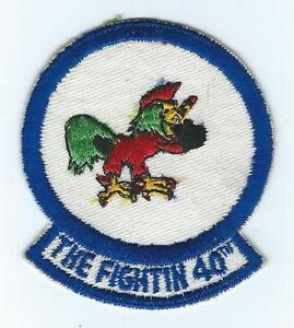 40th bomb squadron patch ebay. Black Bedroom Furniture Sets. Home Design Ideas
