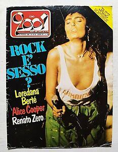 CIAO 2001 33/34-1980 LOREDANA BERTE' - ALICE COOPER - RENATO ZERO - KISS