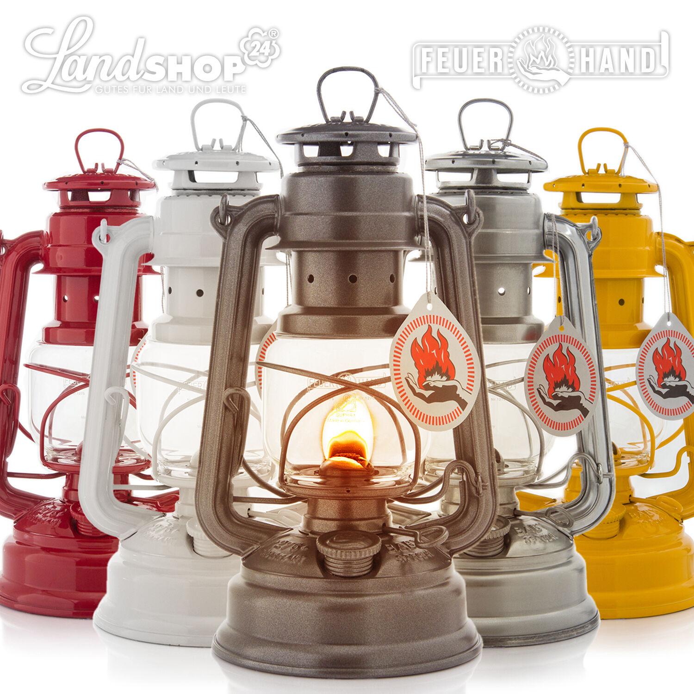 FEUERHAND® 276 Sturmlaterne Petroleumlaterne Petroleum Öl Lampe Laterne Leuchte  | Erste Klasse in seiner Klasse