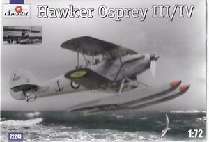 AModel Hawker Osprey III/IV in 1/72 241 ST