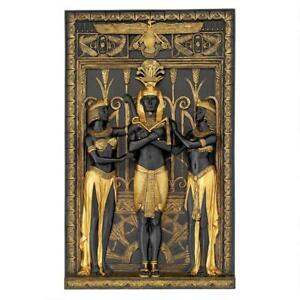 Design-Toscano-Exclusive-The-Egyptian-Pharaoh-And-His-Maidens-Wall-Sculpture