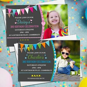 10-Personalised-Girls-Boys-Birthday-Party-Invitations-Invites-ANY-AGE-N211