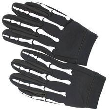 Omen of Death Reaper Mechanic Biker Costume Halloween XL Work Gloves