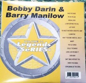 LEGENDS-KARAOKE-CDG-BOBBY-DARIN-amp-BARRY-MANILOW-OLDIES-14-16-SONGS-CD-G