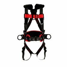3m Protecta 1161224 Full Body Harness Vest Style Mediumlarg Polyester Black