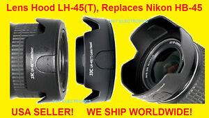 LH-45-T-LENS-HOOD-4-NIKON-AF-S-DX-NIKKOR-18-55mm-f-3-5-5-6G-VR-Replaces-HB-45