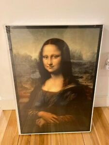 Virgil Abloh Mona Lisa Painting Backlit Ikea Off White Markerad Ebay