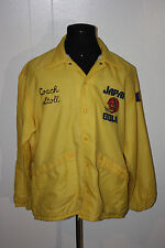 Vintage 1978 Japan Bowl NCAA Coach Cal Stoll Windbreaker Jacket XL Joe Roth