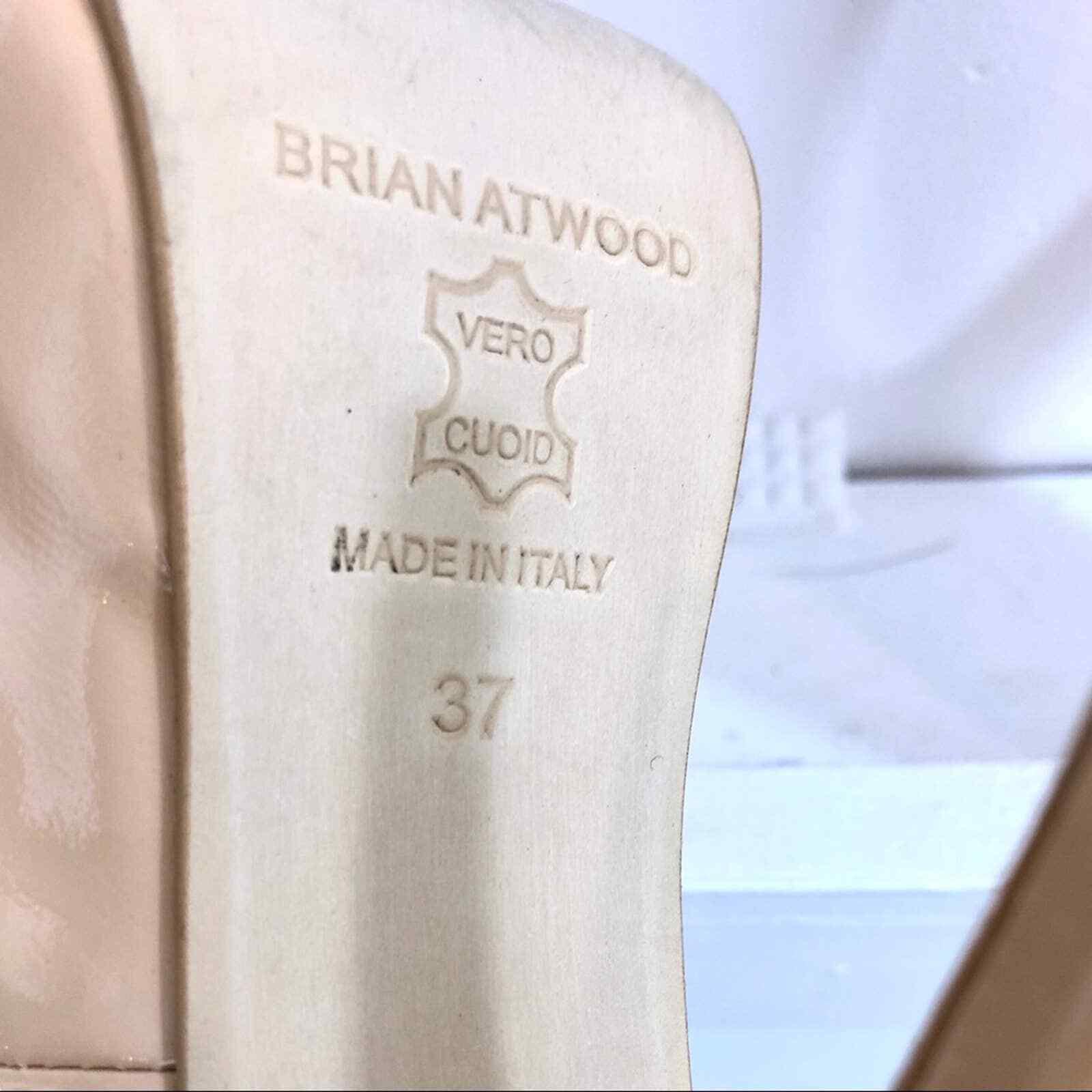 Brian Atwood Hamper Nude Pumps - image 7