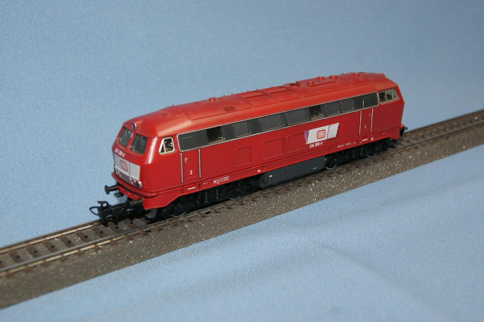 PRIMEX 3019 DB Diesel Locomotive Br 218 rosso