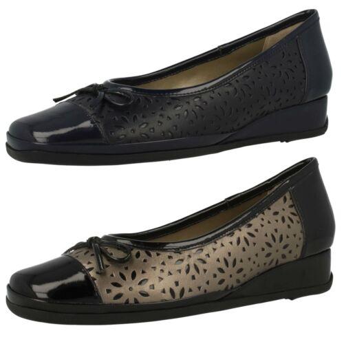 Monteray Ladies Van Dal Low Wedge Shoes
