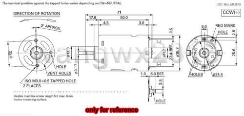 12 V 10000 tr//min 540 Magnétiques Puissants De Brosse Carbone Pour Voiture Bateau modèle Perceuse électrique